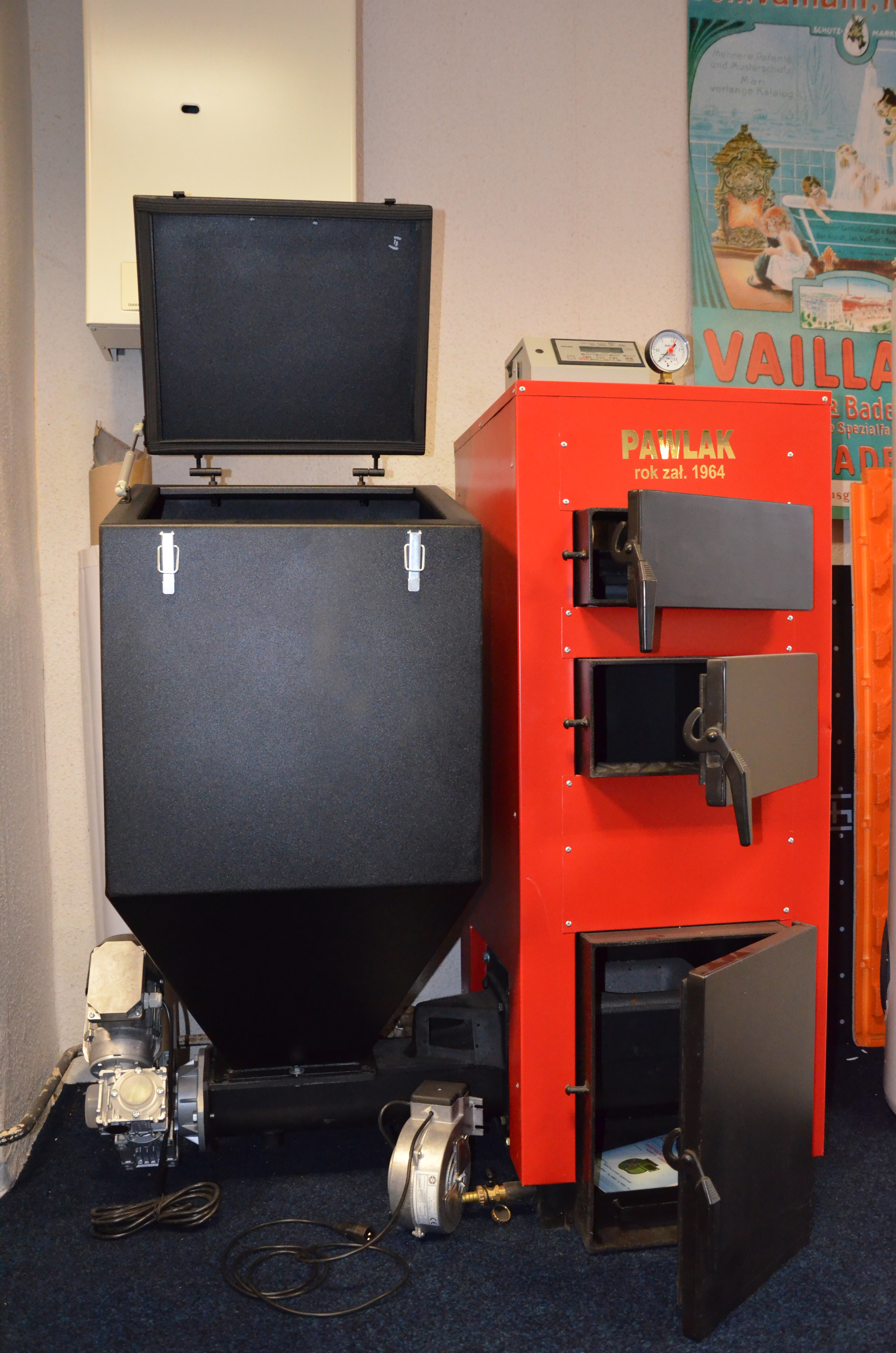 Automatický kotel PAWLAK EKO-DUAL 30kW cena platná při montáži naší společností