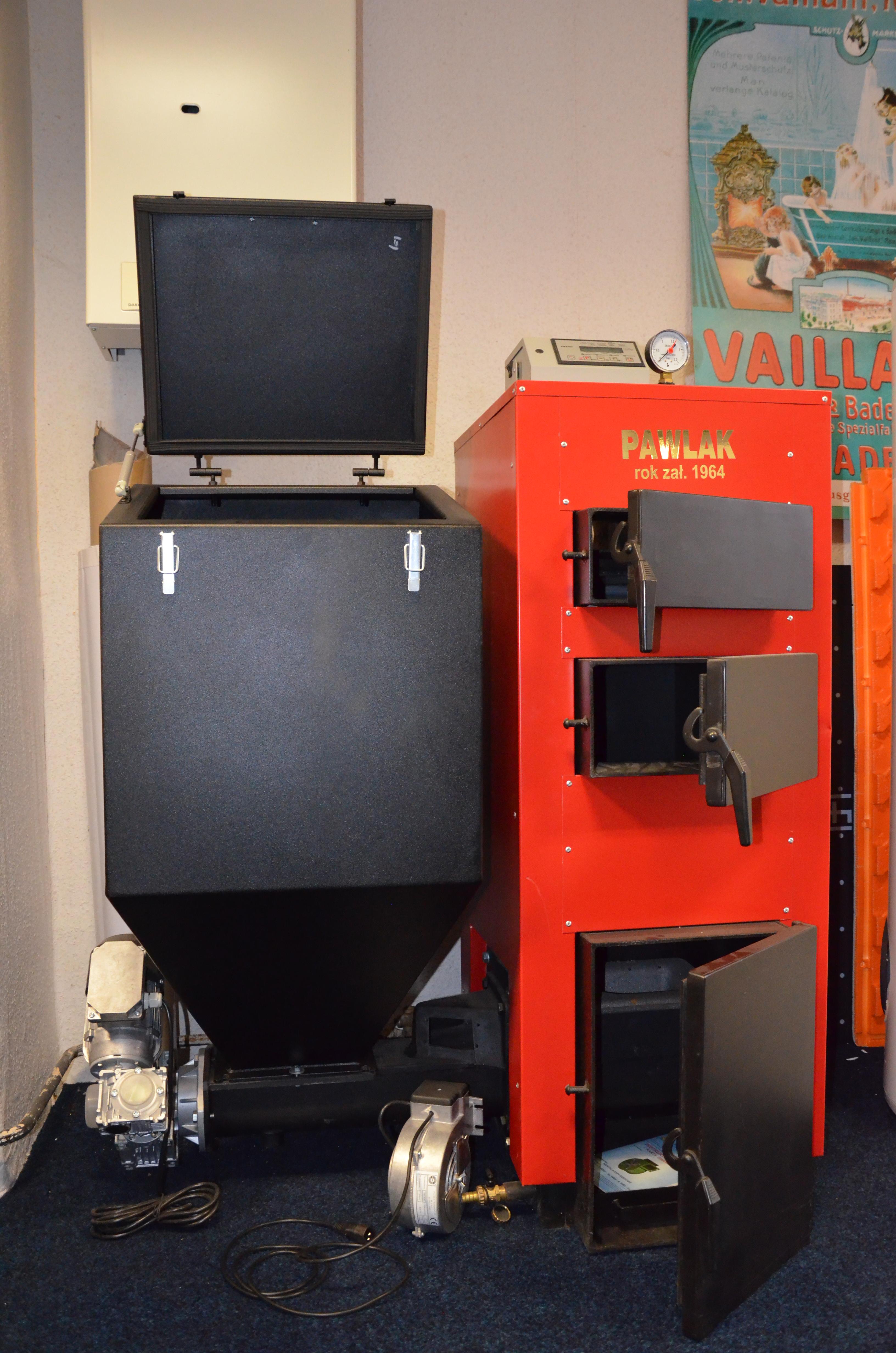Automatický kotel PAWLAK EKO-DUAL 49kW cena platná při montáži naší společností